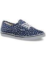 Vans Classic Authentic Lo Pro Navy White Womens Trainers 10 US