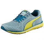 Puma Womens Narita V3 Knit Running Shoes Clear Water-Blue Coral-Sulphur Spring Size 6.5